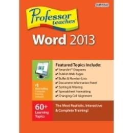 Professor Teaches Word 2013