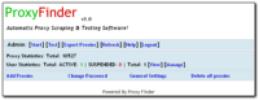 Proxy Finder