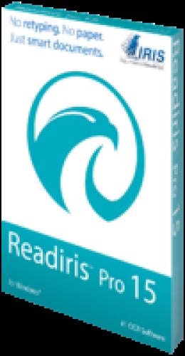 Readiris Pro 15 for Windows