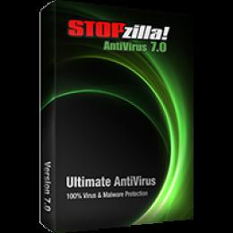 STOPzilla Antivirus 7.0  3PC / 2 Year Subscription