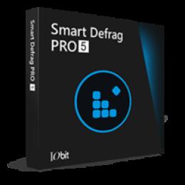 Smart Defrag 5 PRO (un an dabonnement 3 PCs)