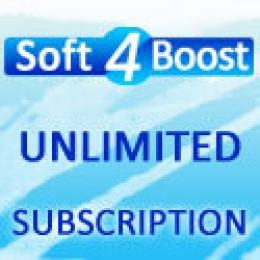 Soft4Boost Suscripción ilimitada