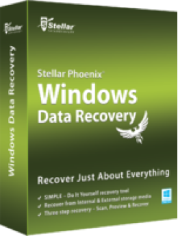 Stellar Phoenix Windows Data Recovery - Startseite