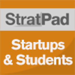 Stratpad: Startups & Students Yearly Subscription