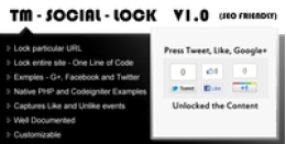 TM Social Lock