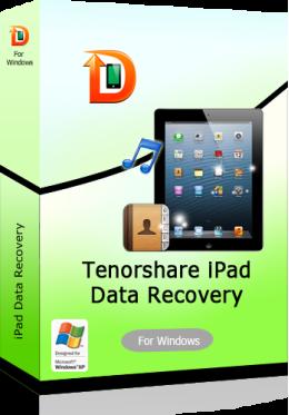 Tenorshare iPad Air/iPad 4/mini/3/2 Data Recovery for Windows