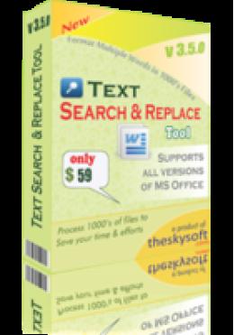 Outil de recherche et remplacement de texte