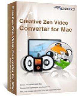 Tipard Creative Zen Video Converter for Mac