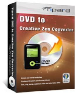 Tipard DVD to Creative Zen Converter
