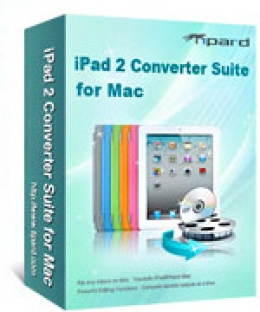 Tipard iPad 2 Converter Suite for Mac
