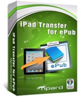 Tipard iPad Transfer for ePub