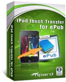 Tipard iPod touch Transfer für ePub