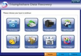 Triumphshare Data Recovery - 2 PC