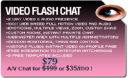 Video Flash Chat - Full Source Code Unlimited License