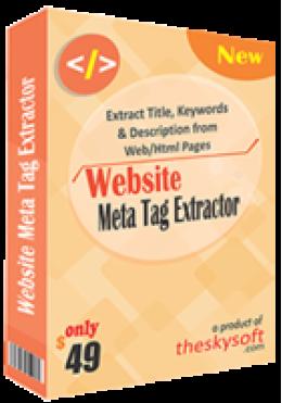 Meta Tag Extracteur de site Web