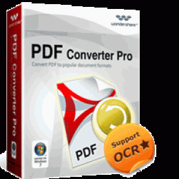 Wondershare PDF Converter Pro for Windows