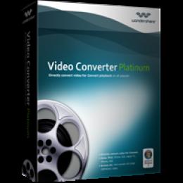Wondershare Video Converter Platinum for Windows