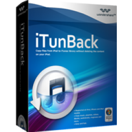 Wondershare iTunBack for Windows