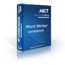 Word Writer .NET - Site License