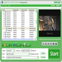 iOrgSoft DVD to MP4 Converter