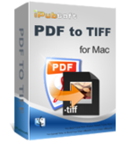iPubsoft PDF to TIFF Converter for Mac
