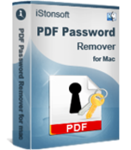 iStonsoft PDF Password Remover for Mac