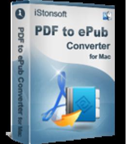 iStonsoft PDF to ePub Converter for Mac
