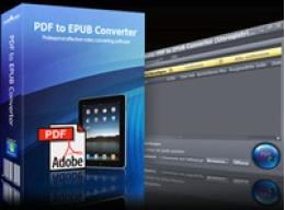 mediAvatar PDF to EPUB Converter