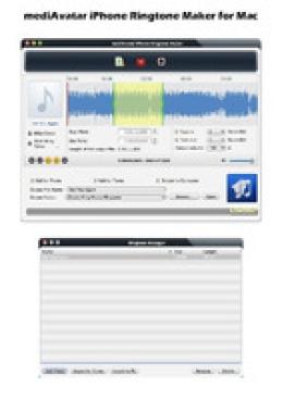 mediavatar iPhone Klingelton Maker for Mac