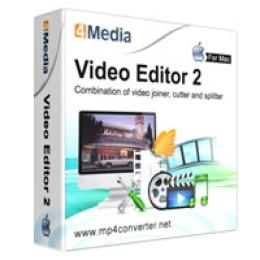 Mac用4Mediaビデオエディタ