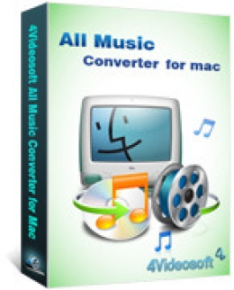4Videosoft All Music Converter for Mac