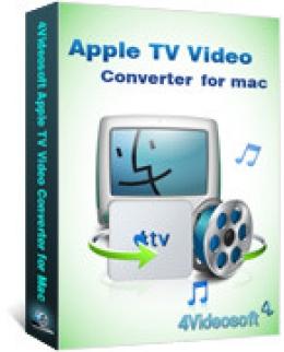 4Videosoft Apple TV Video Converter für Mac
