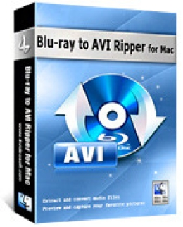 4Videosoft Blu-ray à AVI Ripper pour Mac