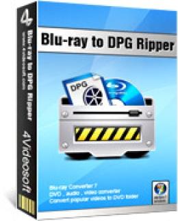 4Videosoft Blu-ray zu DPG Ripper