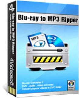 4Videosoft Blu-ray to MP3 ripper