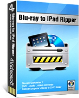 4Videosoft Blu-ray zu iPad Ripper