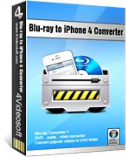 4Videosoft Blu-ray to iPhone 4 Converter