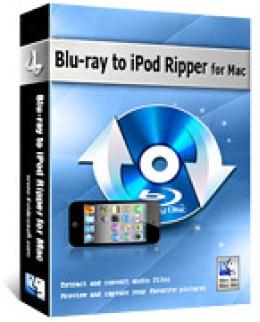 4Videosoft Blu-ray to iPod Ripper for Mac