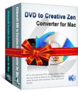 4Videosoft Creative Zen Converter Suite for Mac