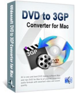 4Videosoft DVD to 3GP Converter for Mac