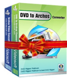 4Videosoft DVD a Archos Suite