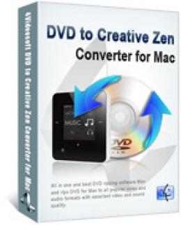 4Videosoft DVD zu Creative Zen Converter for Mac