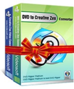 4Videosoft DVD in Creative Zen Suite