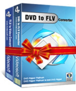 4Videosoft DVD to FLV Suite