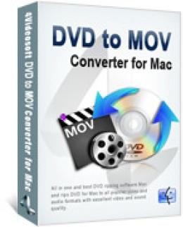 4Videosoft DVD to MOV Converter for Mac
