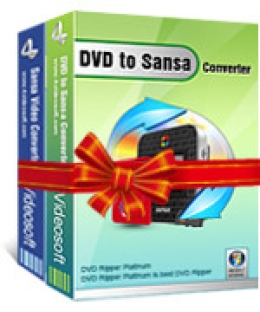4Videosoft DVD to Sansa Suite