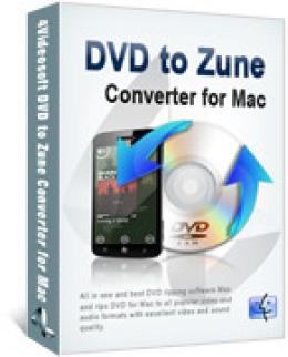 4Videosoft DVD to Zune Converter für Mac