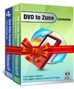 4Videosoft DVD a Zune suite