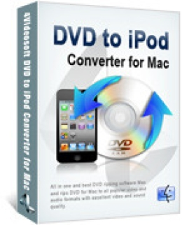 4Videosoft DVD to iPod Converter for Mac
