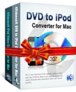 4Videosoft DVD to iPod Suite für Mac